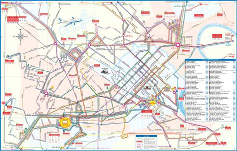 printable map ho chi minh city large detailed city bus map of ho chi minh city ho chi
