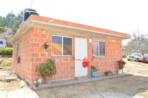 programa nacional de vivienda rural pnvr entrega sedatu 85 bonos de vivienda rural en aquixtla
