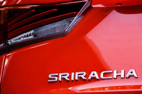 Lexus Just Made A Custom Lexus Sriracha Is And It Is