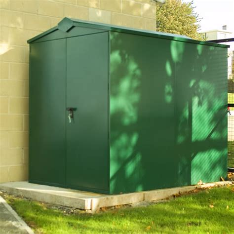 asgard centurion secure metal shed 7 3x5