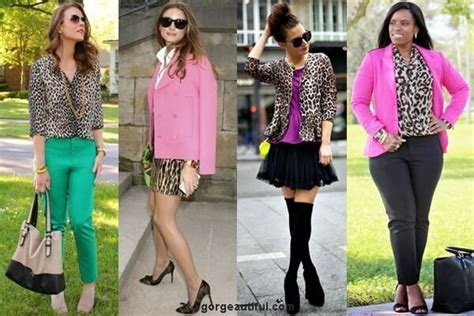 what color goes with leopard print ways to wear leopard print for different occasions