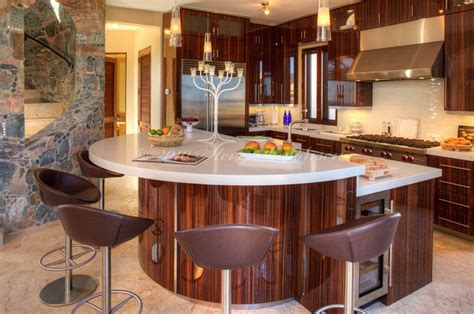Caribbean Kitchen by Caribbean Kitchen Zebra Wood Eclectic