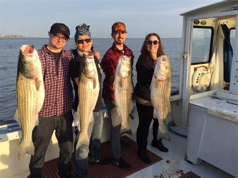 fishing boat trips brooklyn rockfish charters sheepshead bay brooklyn ny fishing charter