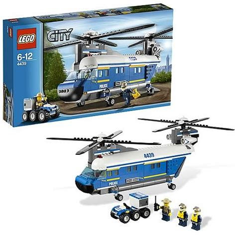 Lego City Helicopter And Robert lego city 4439 heavy duty helicopter lego lego city