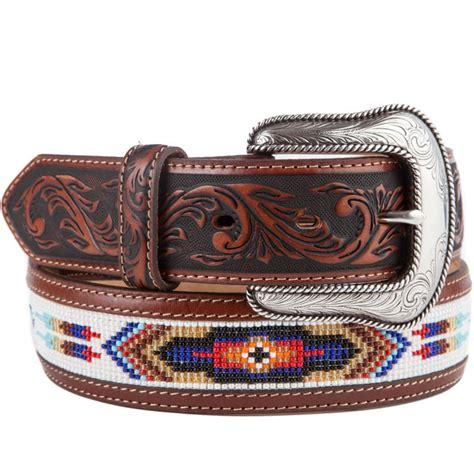 mens beaded belts shop s justin pueblo spirit american beaded