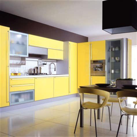 meuble cuisine jaune la d 233 co jaune astuces d 233 co
