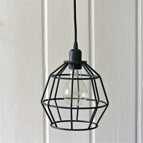 black geometric pendant light black geometric pendant light by magpie living