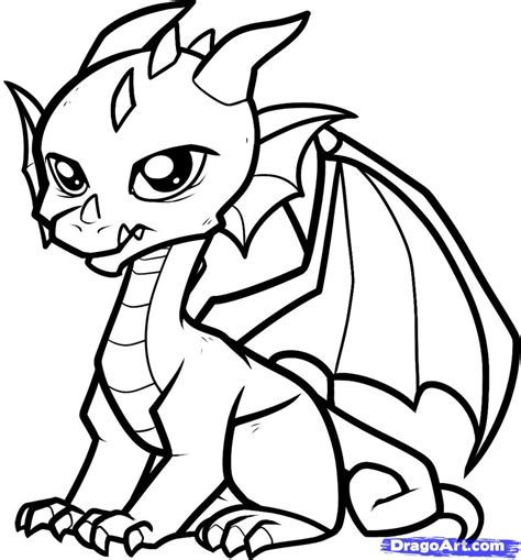 easy baby coloring pages how to draw a baby dragon baby dragon step by step