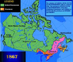 map of canada 1867 topic 1 territorial expansion