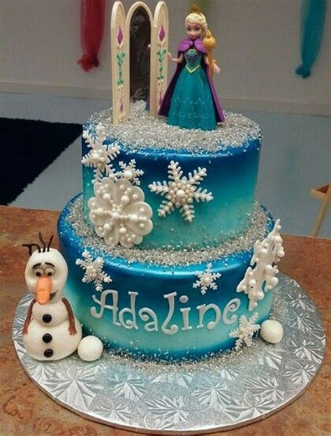 frozen party ideas for 7 year old girl unique kids 21 disney frozen birthday cake ideas and images my happy