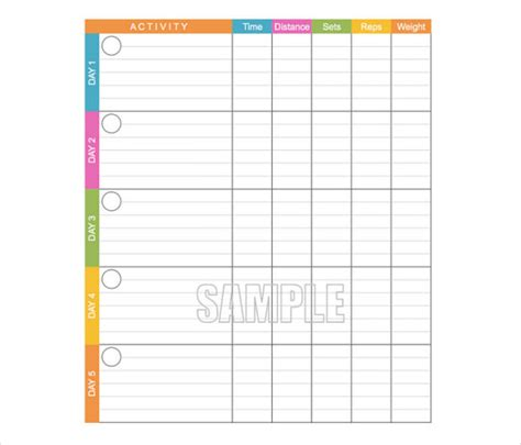 work log template excel crossfit workout log excel spreadsheet eoua