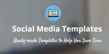 social media template free 15 new social media templates to save you even more time
