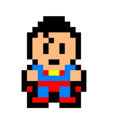 minecraft pixel template maker superman pixel change background view actual size