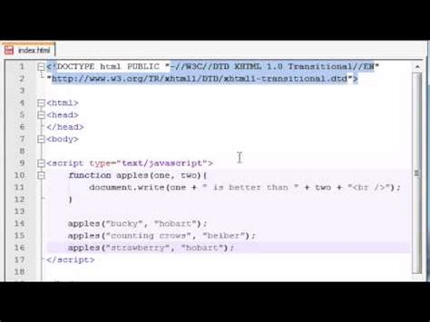 tutorial on javascript functions beginner javascript tutorial 8 functions with multiple