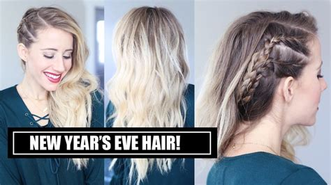 diy hairstyles for new years eve 10 ways to style your hair for the new year s eve