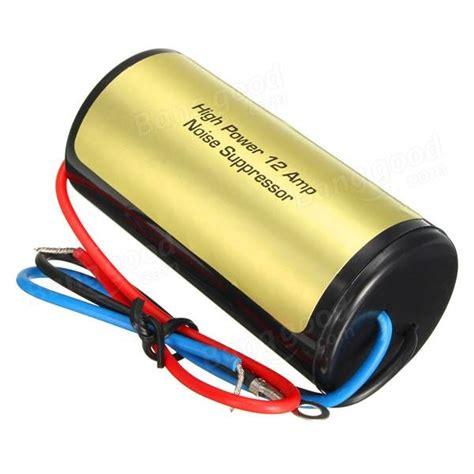 car radio noise suppressor electrical schematic