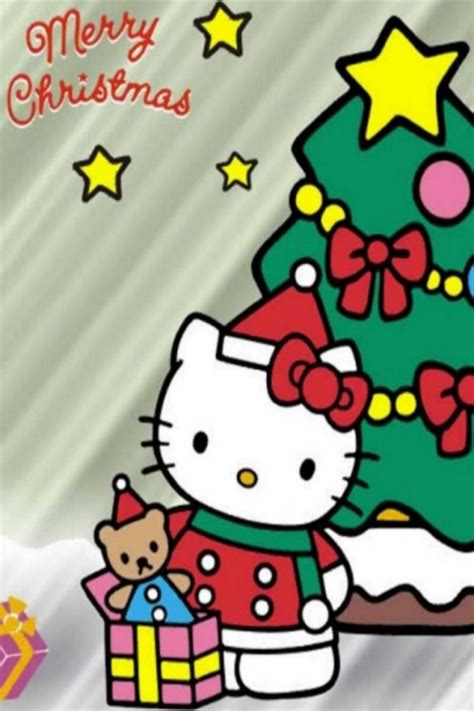 hello kitty christmas wallpaper free hello kitty christmas wallpaper desktop wallpapersafari