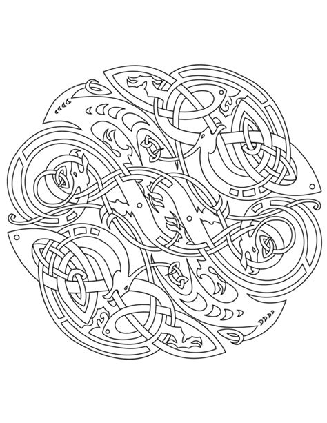coloring books for grown ups celtic mandala coloring pages celtic mandala coloring pages coloring home