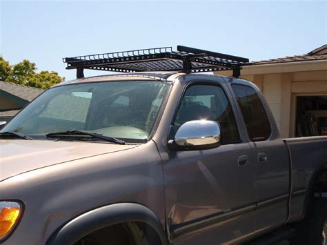 roof rack for toyota tundra drilling for roof racks toyota tundra forums tundra