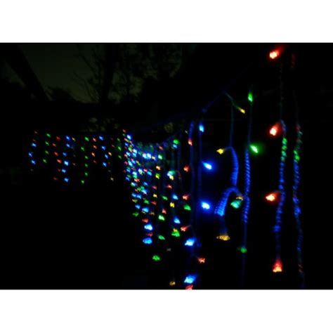 solar icicle lights 120 led