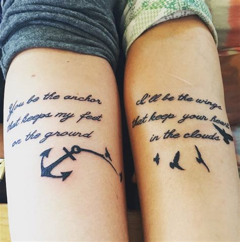 soulmate tattoos 13 best friend ideas to get with your bff me