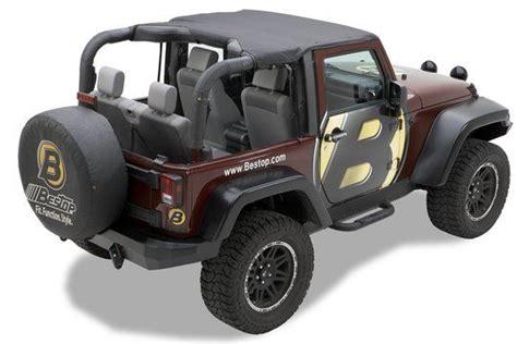 Jeep Jk Tops Bestop 52586 35 Bestop 174 Header 174 Top For 10 16