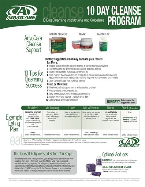 Advocare Detox by Advocare Herbal Cleanse