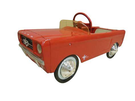 auction mustang pedal car autos post