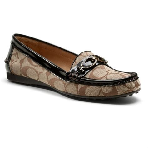 coach loafers for coach new authentic coach fortunata s loafers