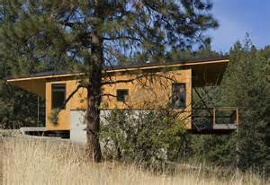 Southwestern Style House Plans this elevated cabin design was done on a budget plan