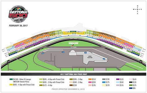 daytona speedway seating diagram tickets and parking daytona international speedway