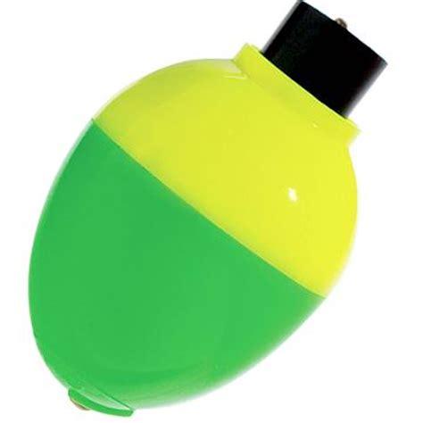 crappie rattlin pear float  pk yellowgreen