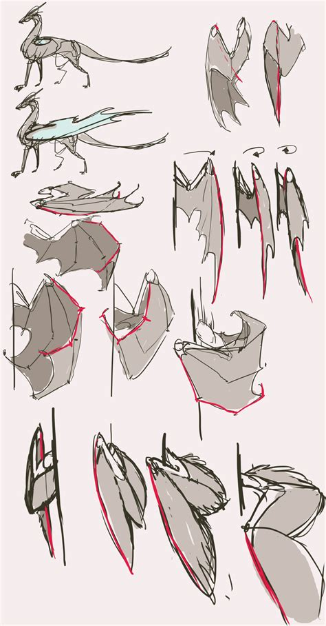 design by humans syntax folded wings reference part2 by remarin on deviantart