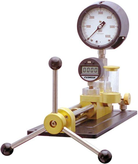 how to calibrate a pressure gauge with a pressure gc 10k pressure comparator ideal for pressure dial