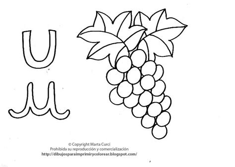 imagenes infantiles con la letra u dibujos para imprimir y colorear pintar imagenes para
