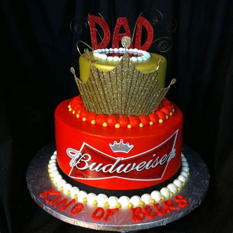 budweiser cake pin by kalstrom on cake inspiration