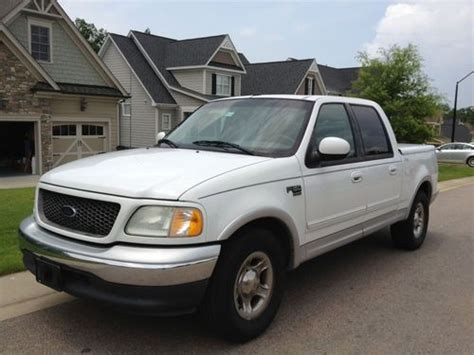 Ford F150 Lariat 2002 4 Door by Purchase Used 2002 Ford F 150 Lariat Crew Cab 4