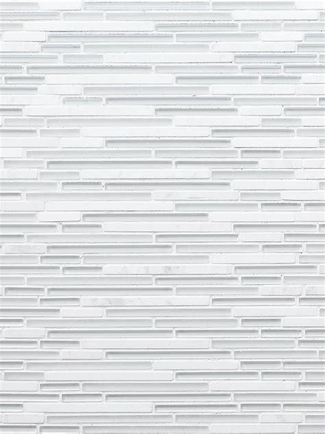 modern white marble glass linear backsplash tile backsplashcom