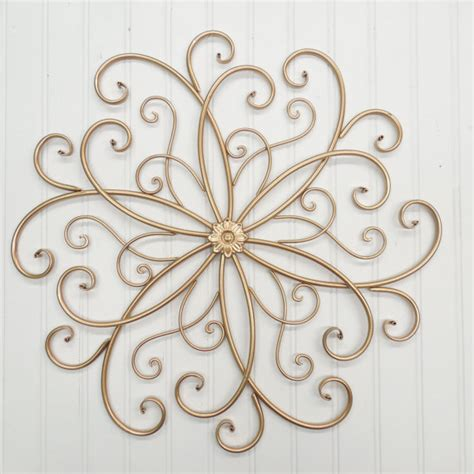 metal wall decor for bedroom wrought iron wall decor you pick color s gold metal