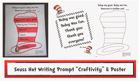 Dr Seuss Essay by Classroom Freebies Dr Seuss Day Writing Prompt Quot Craftivity Quot