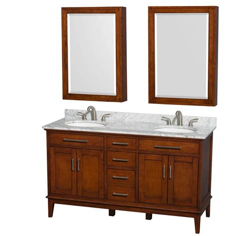 home decorators collection madeline home decorators collection madeline 24 in w bath vanity in chestnut with composite vanity top