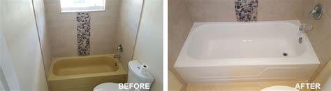 bathtub refinishing ft lauderdale bathtub refinishing reglazing fort lauderdale 954