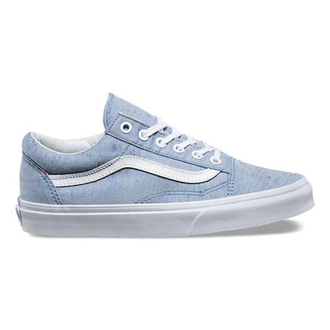 Sepatu Vans Denim speckle jersey skool shop shoes at vans