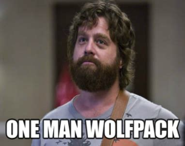 Single Man Meme - lone wolf hangover movie quotes quotesgram