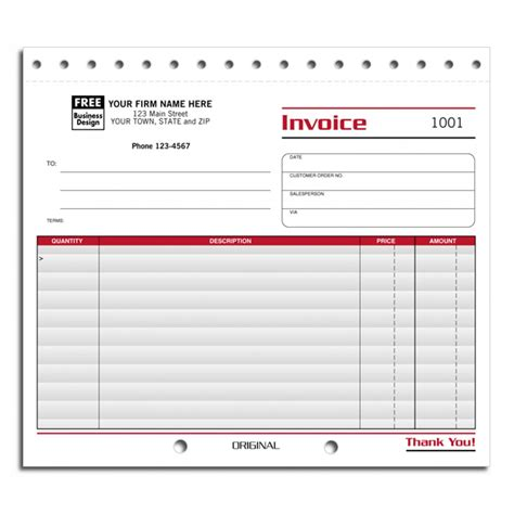 free small business invoice template business invoice forms hardhost info