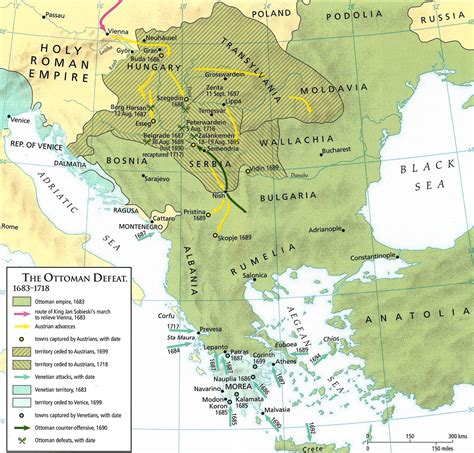 ottoman europe today in european history the battle of moh 225 cs 1687