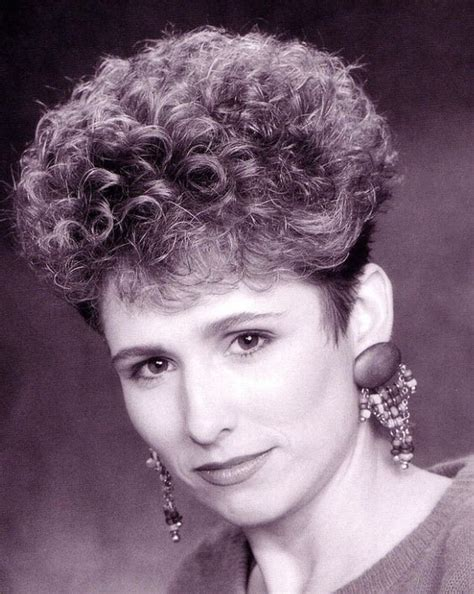 haircut short and permed in 80s salon 1000 images about permed hairdos on pinterest curly bob