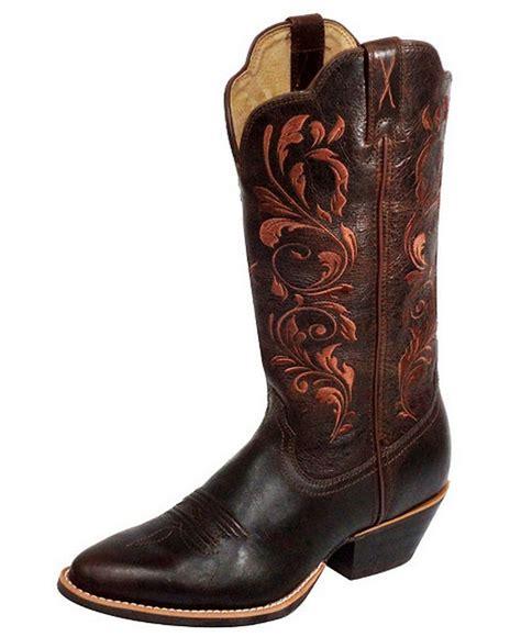twisted x western boots womens cowboy chocolate wwt0032 ebay