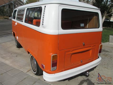 1974 volkswagen bus 1974 vw westfalia tintop weekender cer bus
