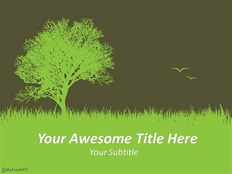 Free Scary Powerpoint Templates Myfreeppt Com Environmental Powerpoint Templates